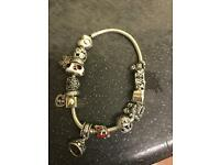 Real Pandora with charms