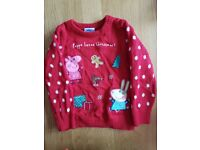 Girls age 2-3 Christmas clothes bundle (sold stc)