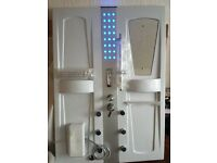 Shower Cabin never used with Lights / Radio /Foot and back massager / Phone point