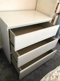 Large 3 drawer Chest of Drawers