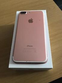 IPhone 7 Plus 32gb Rose gold Unlocked