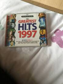 The greatest hits of 1997 CD album