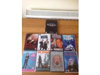 Comedy DVDs 50p each