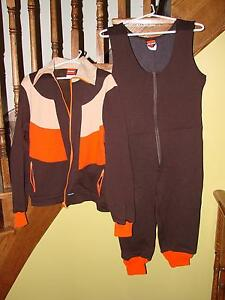Vintage 1980s Cross Country Ski Jacket and Pants Set (BRAND NEW)