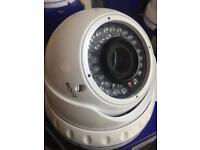 CCTV White case, Big Dome cameras. with joysticks. £15 each