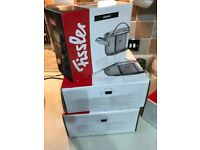 Fissler high quality pans BNIB x 5 and one extra for free unboxed