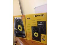 krk rokit 5 (2 speakers)