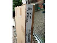 Ikea Agne black stool brand new in box