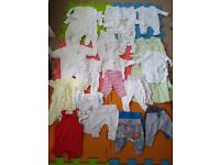 Huge Lot of Baby Clothes, Newborn to 6 Months