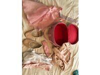 Kids full ballet kit age 5-6 years inc bag