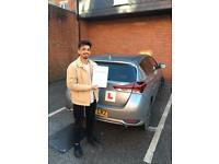 Driving instructor & driving lessons(manual car)