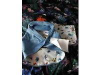 Bugaboo cameleon 3 limited edition andy warhol blue butterflies hood and tote bag brand new