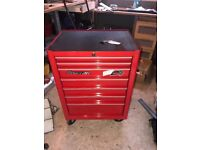 Snap On Roll Cab Tool Box With Tools!