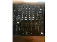 Pioneer DJM900NXS2 professional mixer mint condition 7mths old with receipt