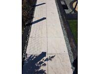 70 New White Bradstone slabs