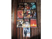 Collection of 33 dvds including sci fi/action thrillers, comedy and family movies