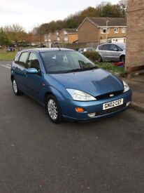 Ford Focus. Excellent runner. Low mileage.