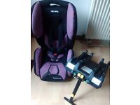 Recaro Young Expert Plus CAR SEAT with isofix