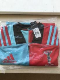 BRAND NEW HARLEQUINS RUGBY SHIRT