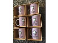 37 Unicorn boxed mugs
