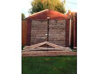 8x16ft shed/workshop car garage