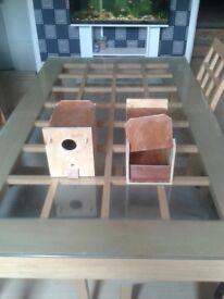 budgies nest boxs