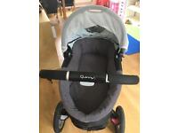 Quinny Buzz pushchair and cot