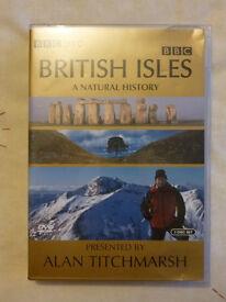 ALAN TITCHMARSH BRITISH ISLES A NATURAL HISTORY DVD