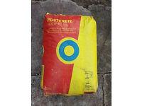 1 (one) Bag of postcrete 20kg Fast Drying Concrete