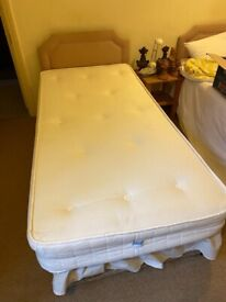 2 x single beds with mattresses