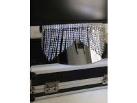 Sunshades/ sunglasses, beautiful LA designer made, with clusters of diamanté UV 400 head turners