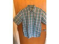 Burberry Short Sleve Shirt