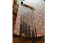 Slazenger golf clubs, Cavity backed irons , used but in good condition