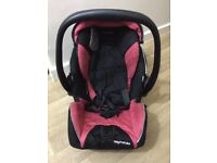 44447ad8037 Recaro Baby Carrier Car Seat - Good Condition (Cherry Pink)