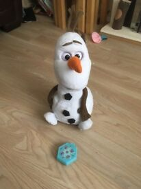 Frozen Olaf remote control children's toy