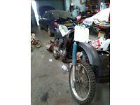 Kawasaki KDX 125 Field Bike
