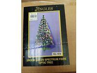 Christmas tree 6ft fibre opti brand new in box