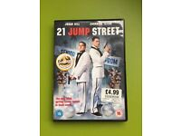 21 Jump Street DVD_was £4.99_now only 25p (only used once)!
