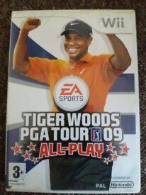 tiger woods pga tour 2009 all play - nintendo wii game