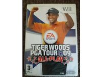 tiger woods pga tour 2009 all play - nintendo wii game