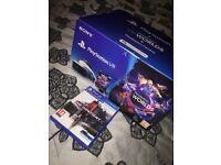 Playstation VR Headset + Camera + Games