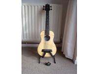 Kala U-Bass Rumbler acoustic/electric ukulele