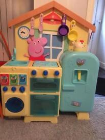 Child's Peppa Pig Kitchen