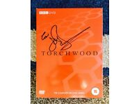 Torchwood Series 2 Signed By John Barrowman