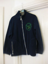 YSGOL Y BERLLAN DEG SCHOOL FLEECE +Motif Age approx 4-7 - Great Condition Perfect now REDUCED AGAIN!