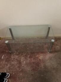 Freee glasss table