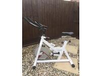 Kelly Holmes - exercise bike / spin bike
