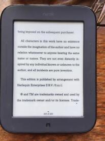 Nook Simpletouch e-book reader like Kindle