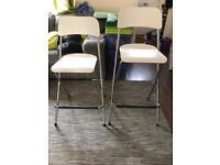 Ikea Franklin foldable bar stools