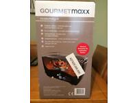 Gourmetmaxx portable fan assisted bbq